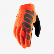 100% Brisker Fluo Orange/Black